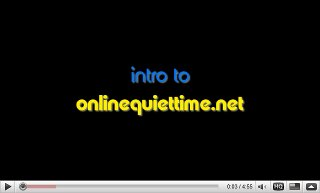 Youtube introduction to online quiet time